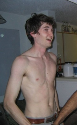 Ulbricht at his 21st birthday party.