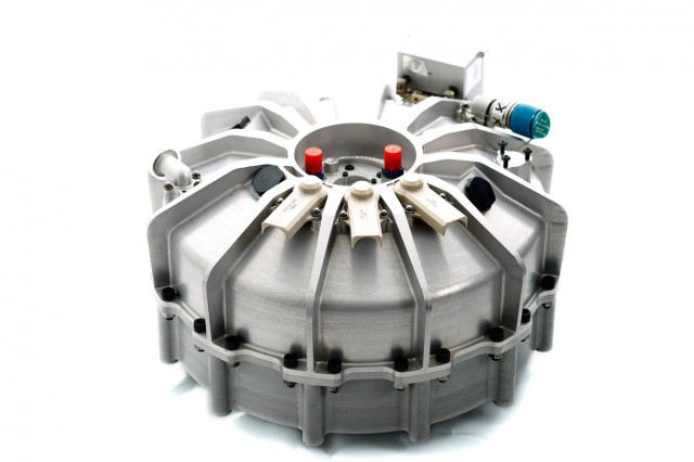 The Williams Hybrid Power flywheel.