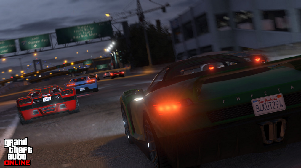 Impromptu races around Los Santos are some of the most satisfying missions, especially if you're playing with friends.