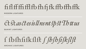 How letters connect varies between fonts and is particularly complex, and complex to imitate, for real handwriting.