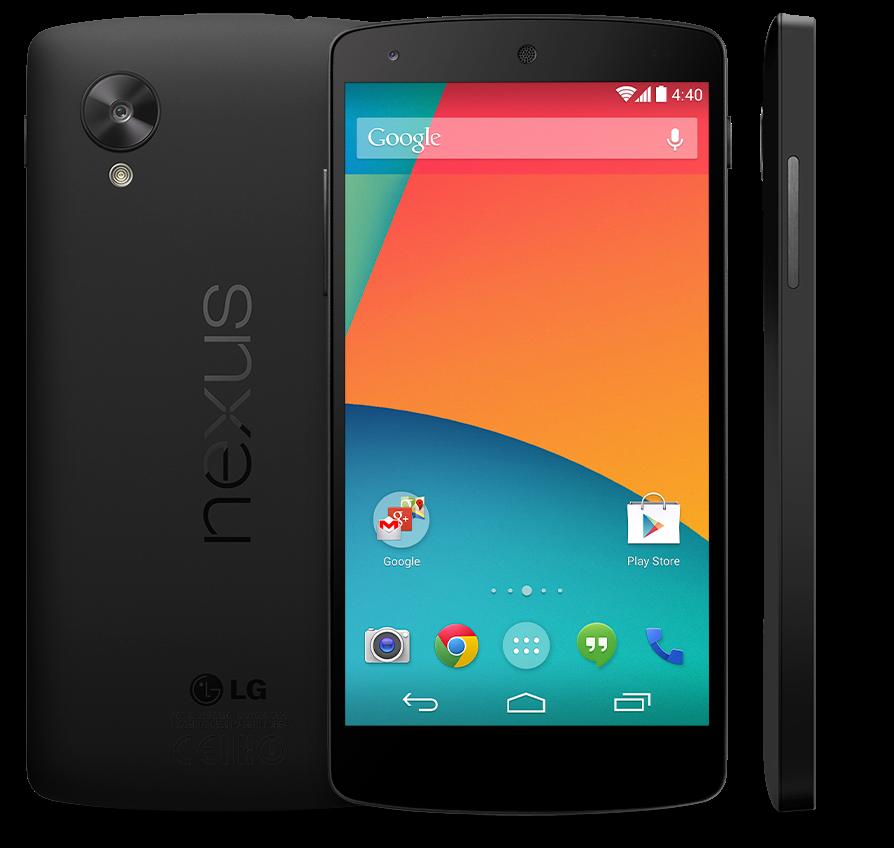 Google Nexus 5.