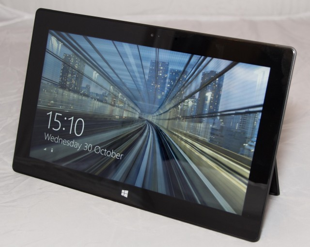 The Surface Pro 2.