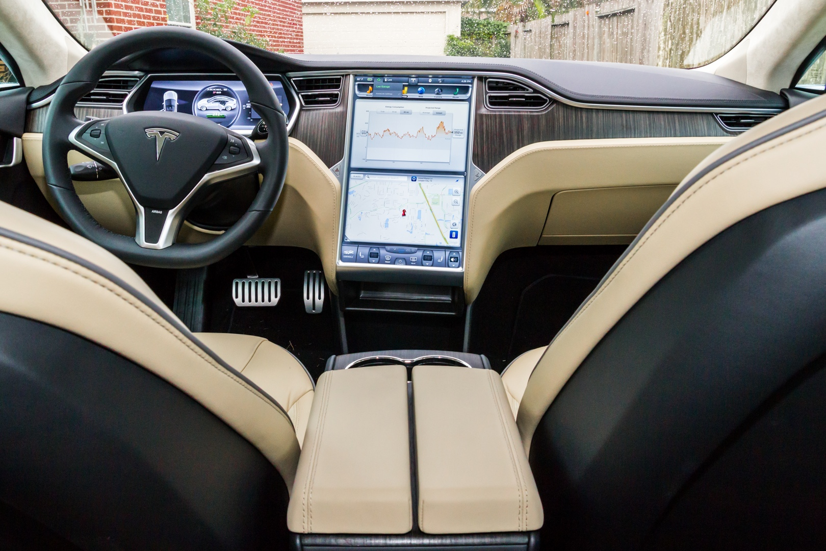 review tesla motors all electric model s is fast but is it a good car ars technica. Black Bedroom Furniture Sets. Home Design Ideas