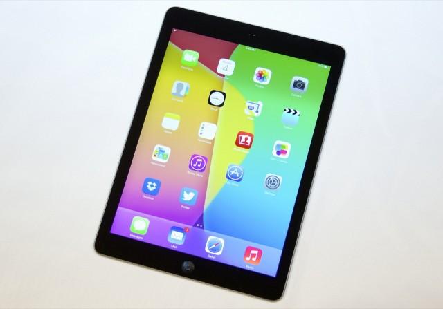 The iPad Air.