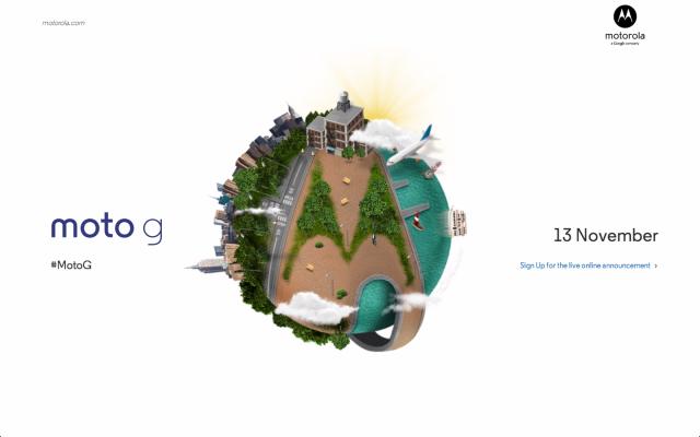Moto G teaser site: A little slower, a little smaller, just as good?
