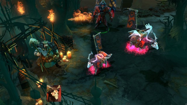 That pink flame effect around the courier's feet is what makes it so expensive.
