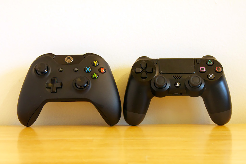Is it me, or do these controllers look like they're morphing into one another's forms?