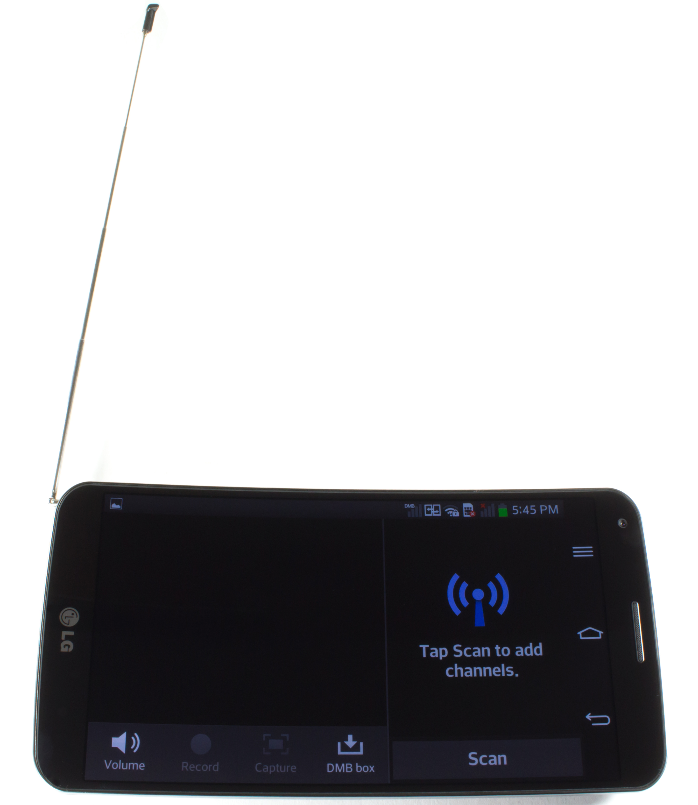 The G Flex's Korea-only DMB antenna.