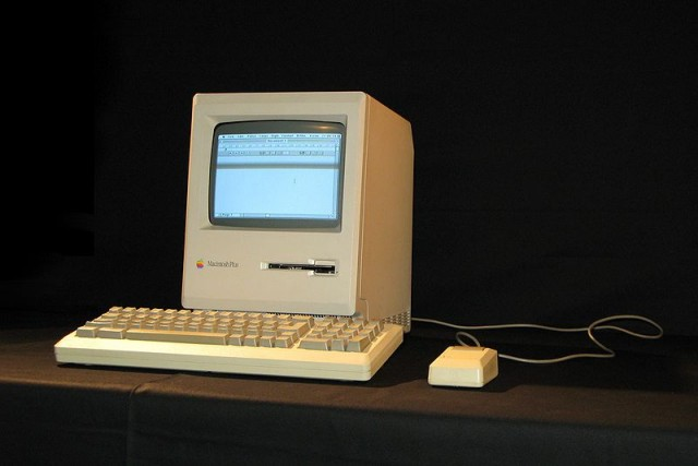 The Macintosh Plus.