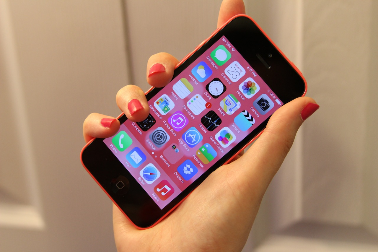 Apple put a whole lot of marketing muscle behind the iPhone 5C, which is essentially a year-old phone.
