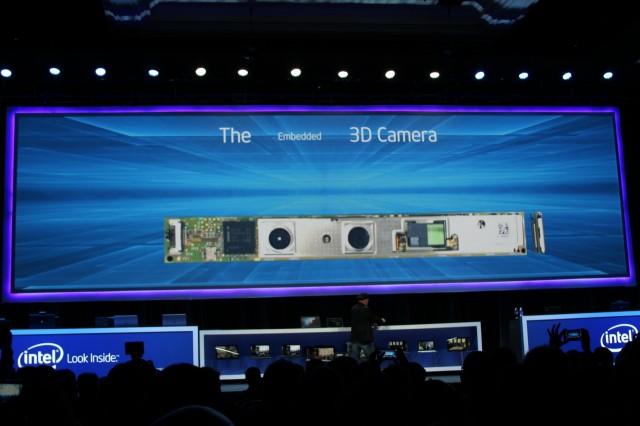 The long, thin 3D camera module should fit into existing PC and tablet designs fairly easily.