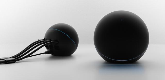 The Nexus Q, Google's cancelled set-top...ball.