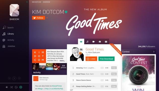Kim Dotcom's Baboom