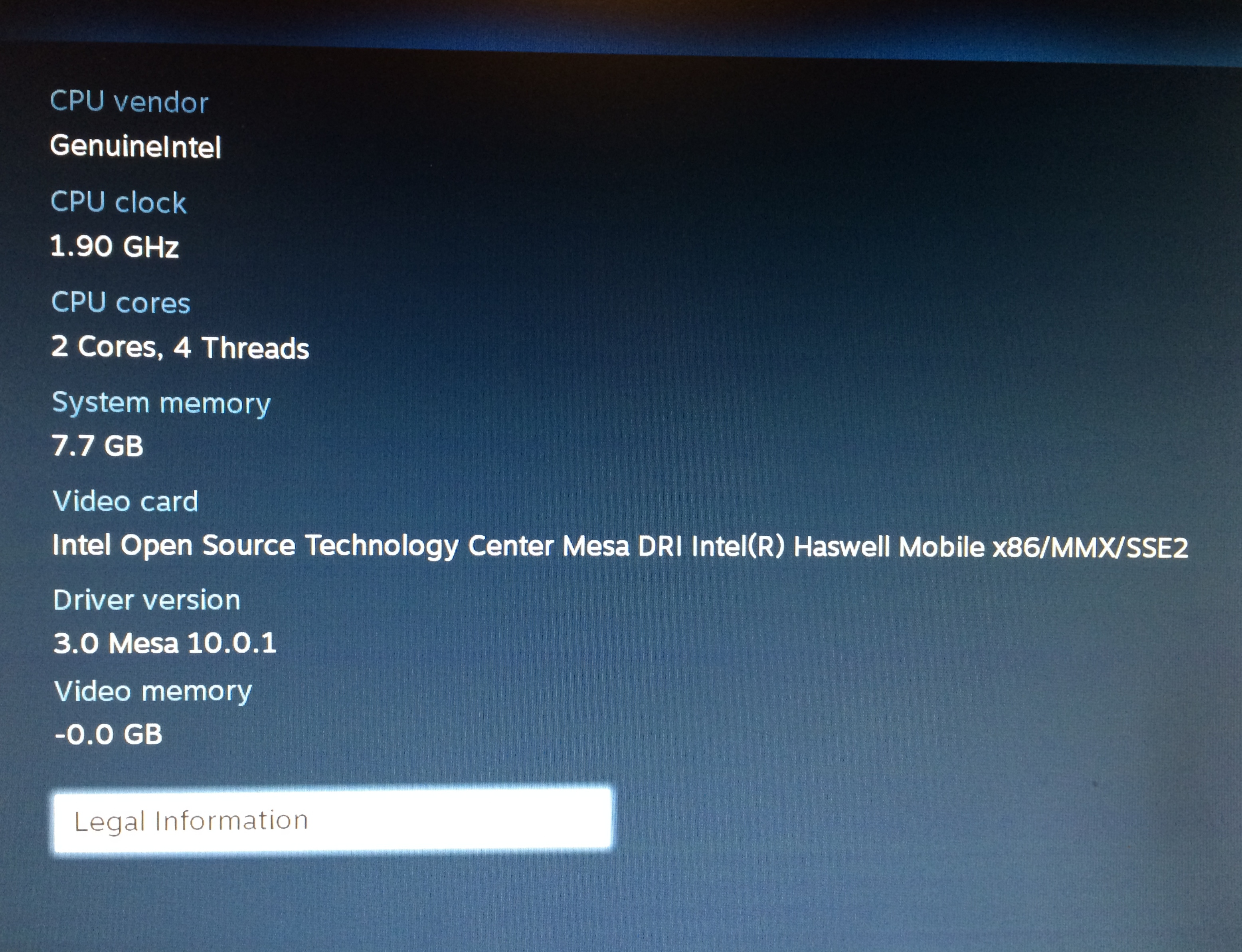 SteamOS added Intel GPU support earlier this month after an Nvidia-only launch.