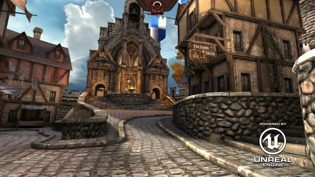 <em>Epic Citadel</em> running on Chrome. Yes, <em>Chrome</em>—the Web browser.