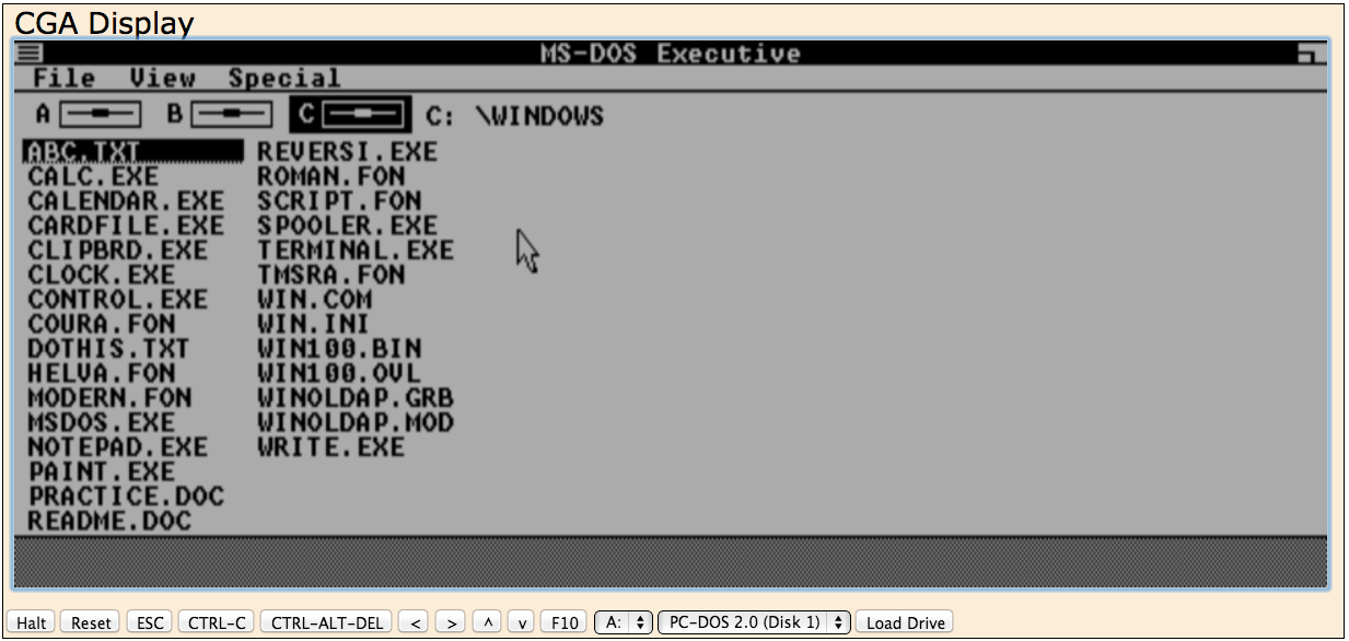 7 classic versions of windows and mac os you can run in a for Program like paint for mac
