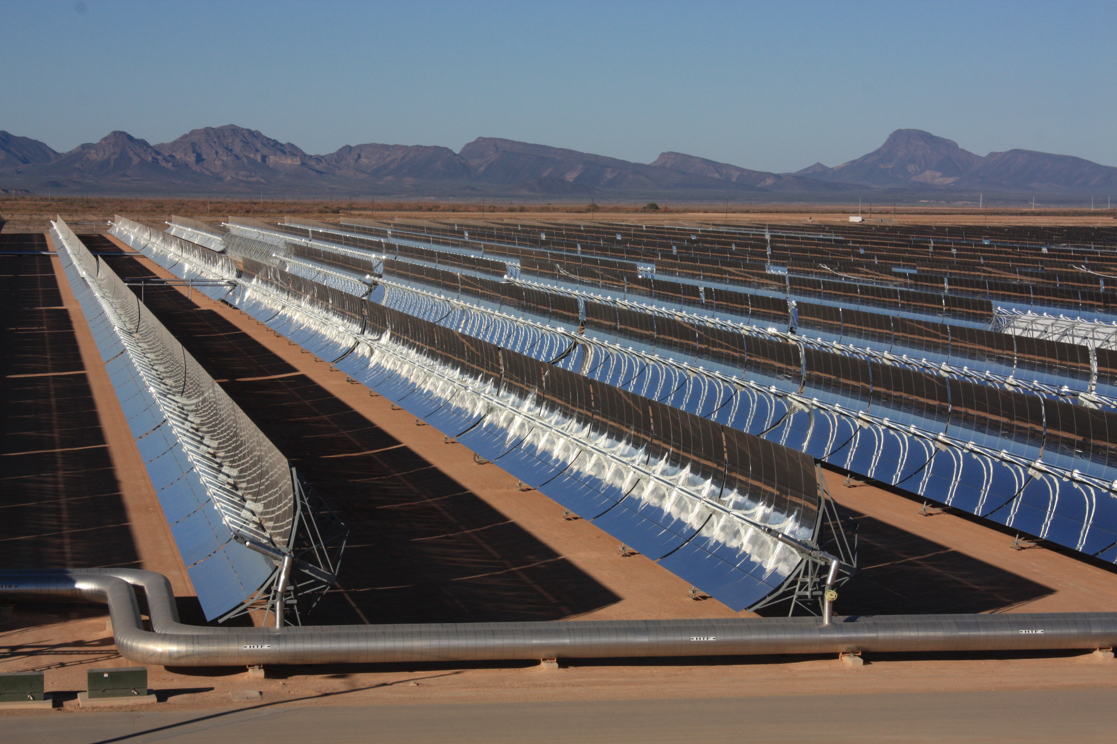 The Solana Generating Station is a solar power plant near