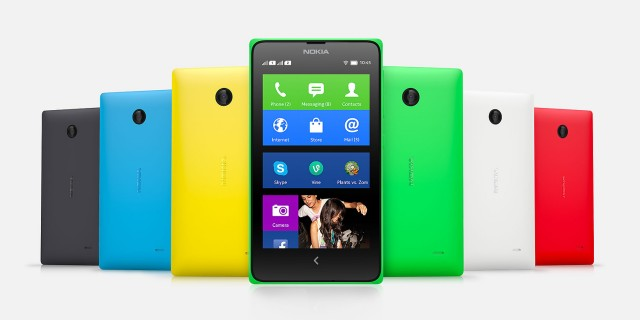 Nokia X+. Believe it or not, these are actually different from the Nokia X. They don't really look it.
