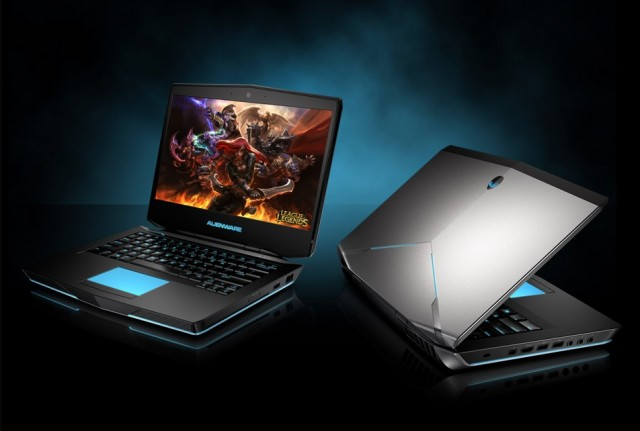 The Alienware 14 gaming laptop.
