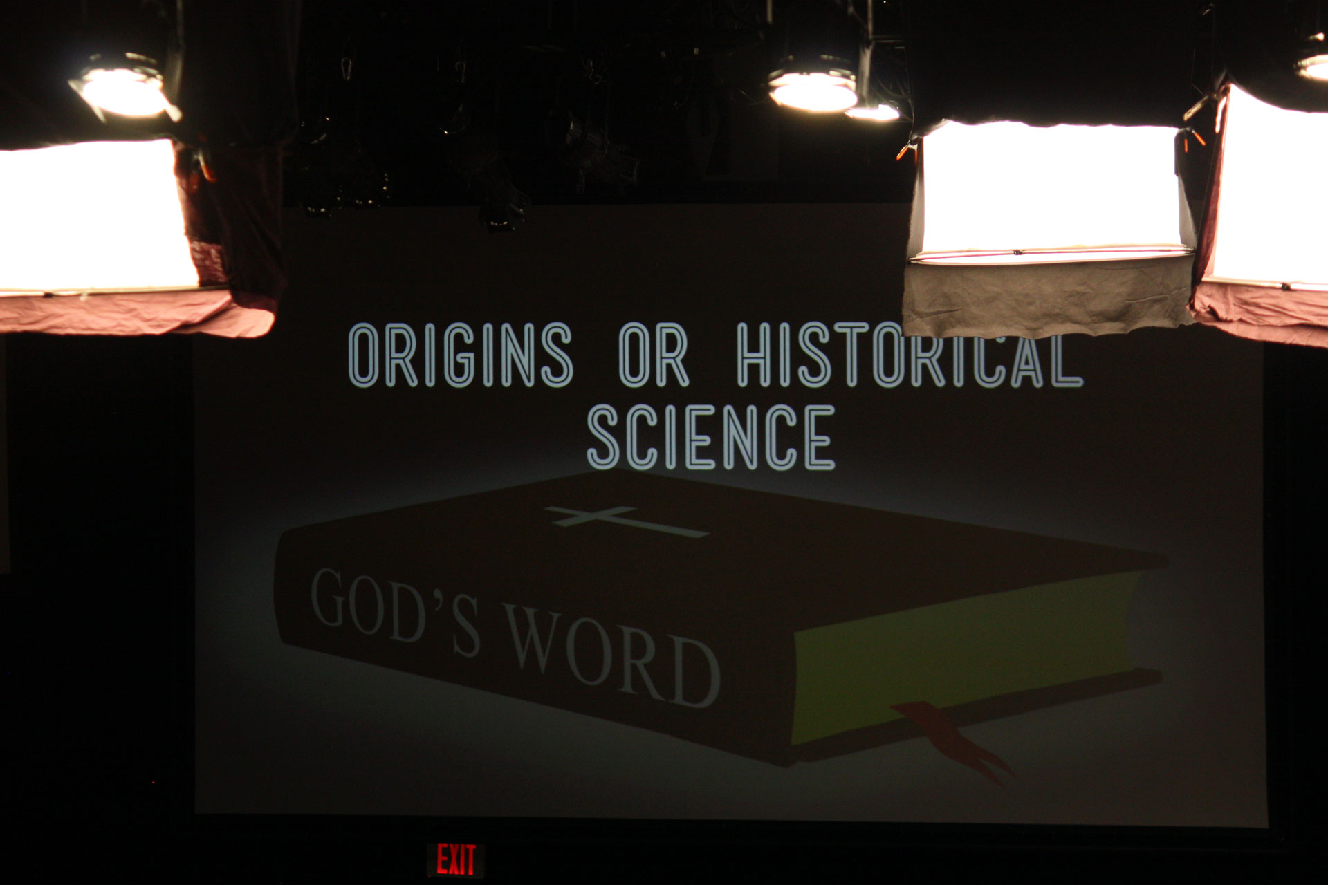 "Ken Ham's starting point for doing ""historical science."""