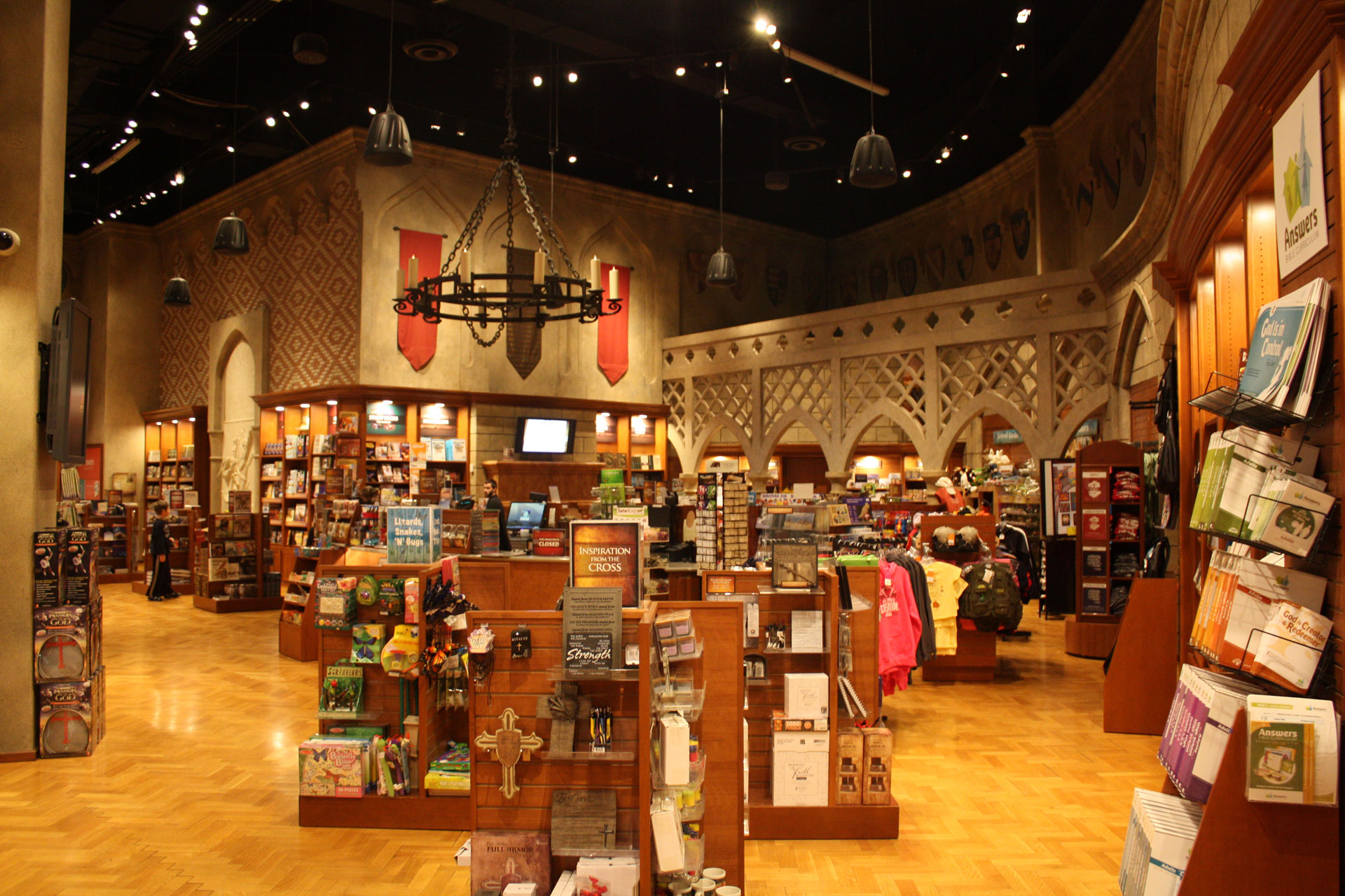 Like every other museum and zoo exhibit, the exit goes through the gift shop.