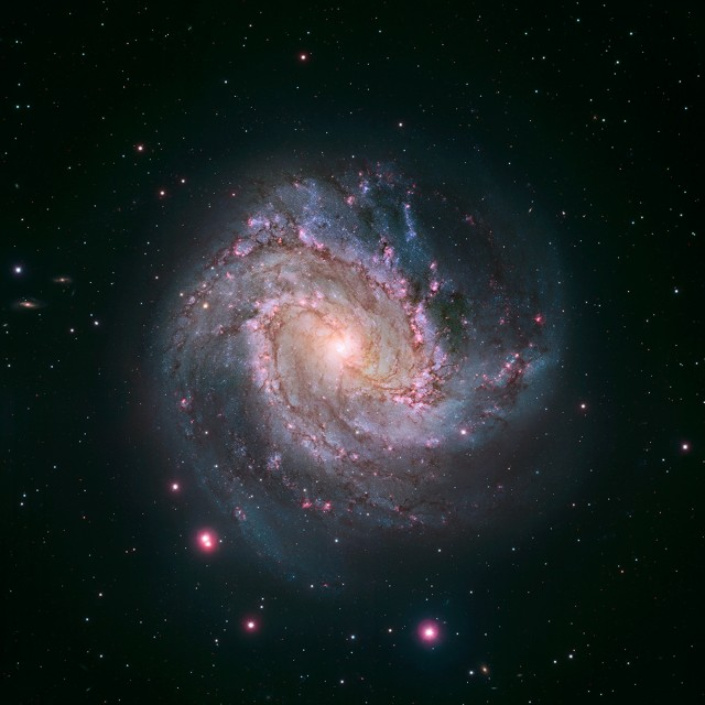 The Southern Pinwheel galaxy. It doesn't add anything to the story, but it's too pretty not to include.