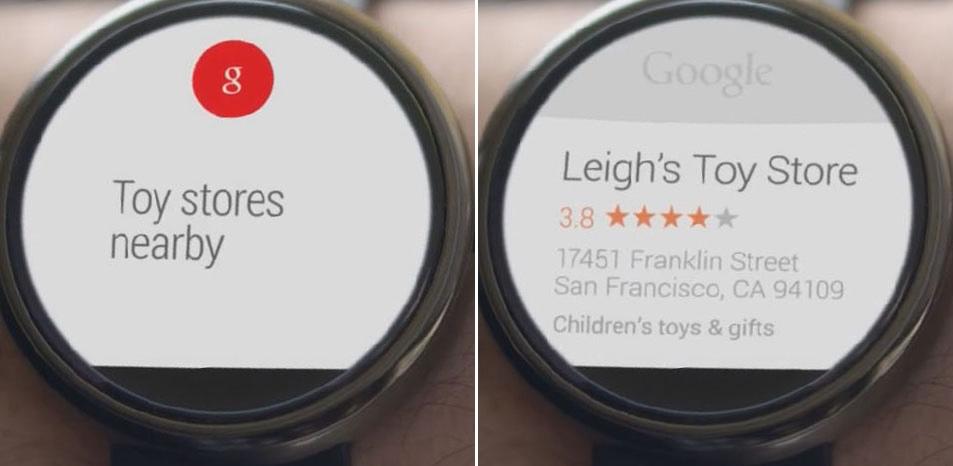 A Google Voice Search.