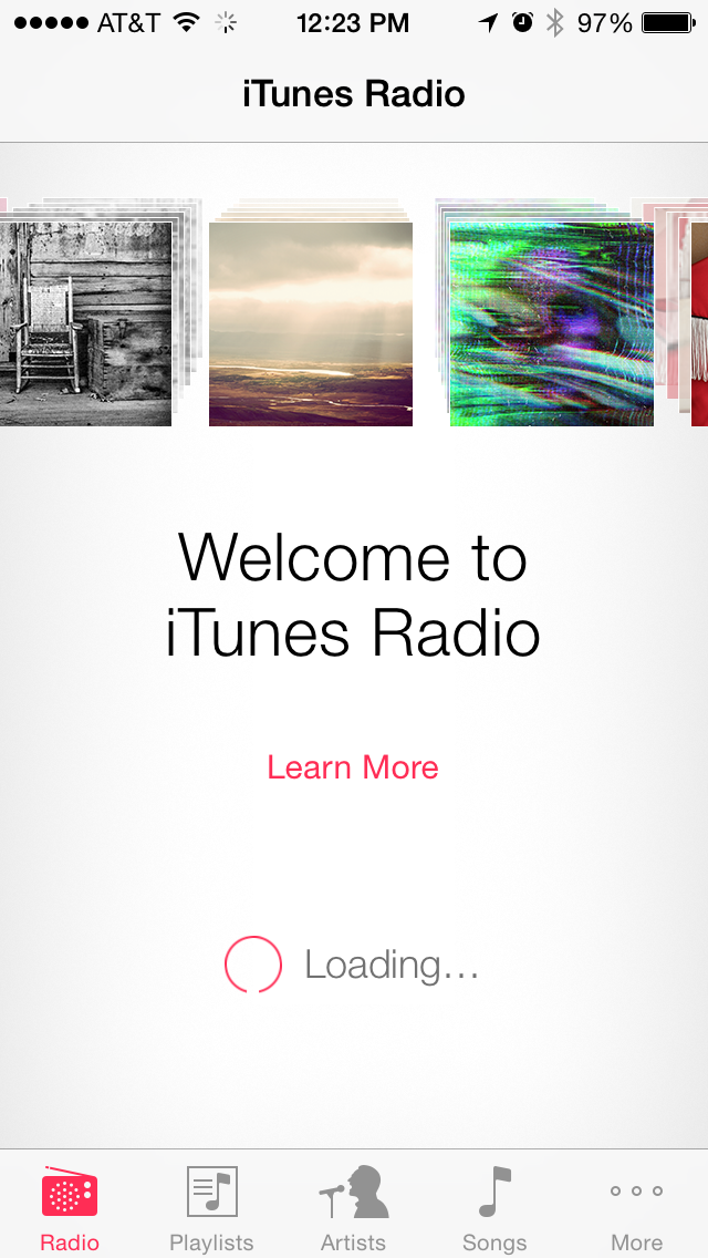 iTunes Radio is currently embedded in the Music app.