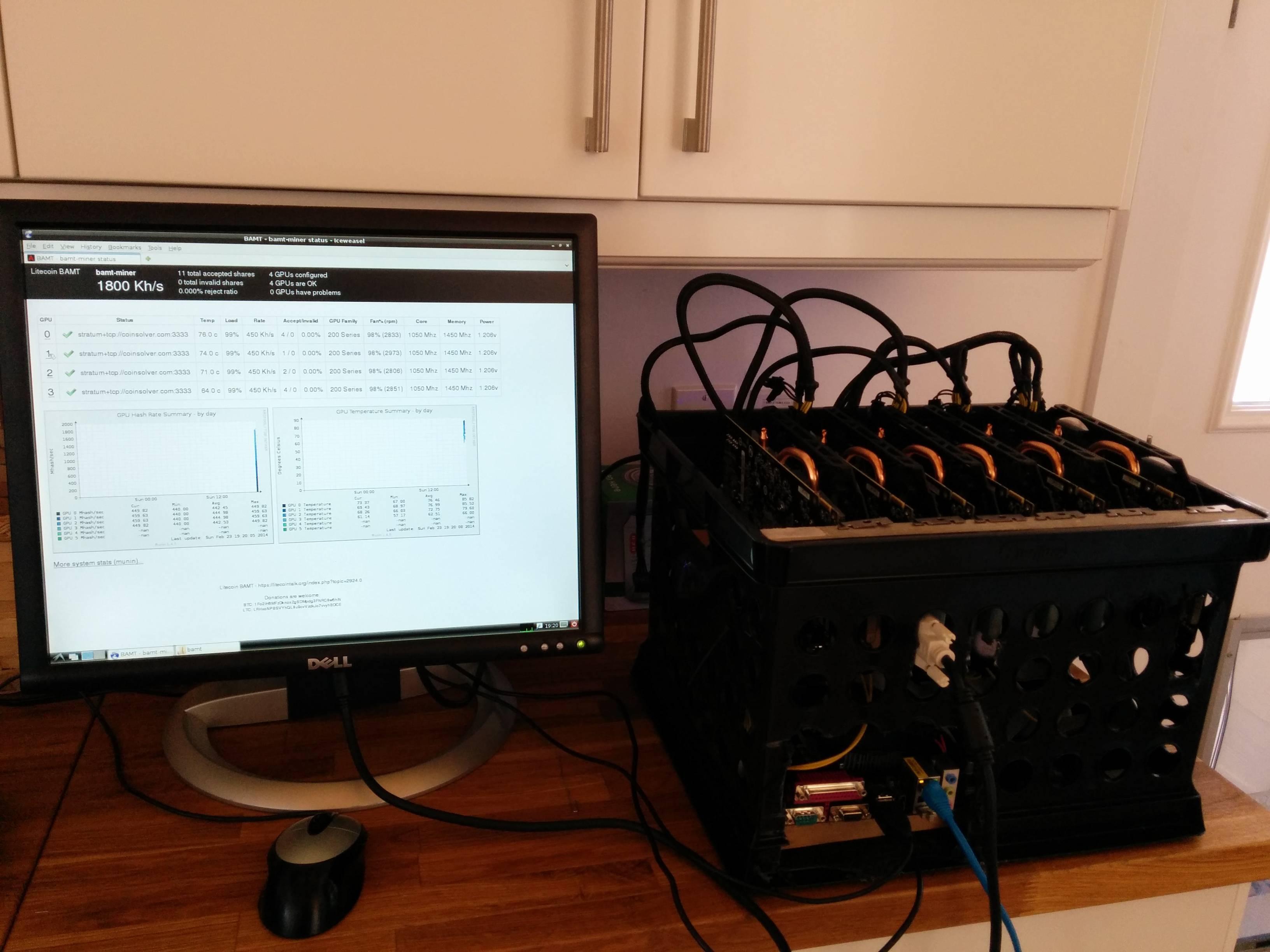 This is Lylepratt's Arscoin rig.