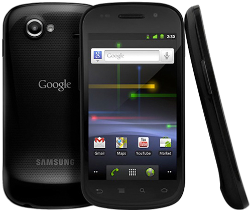 The Nexus S, the first Nexus phone made by Samsung.