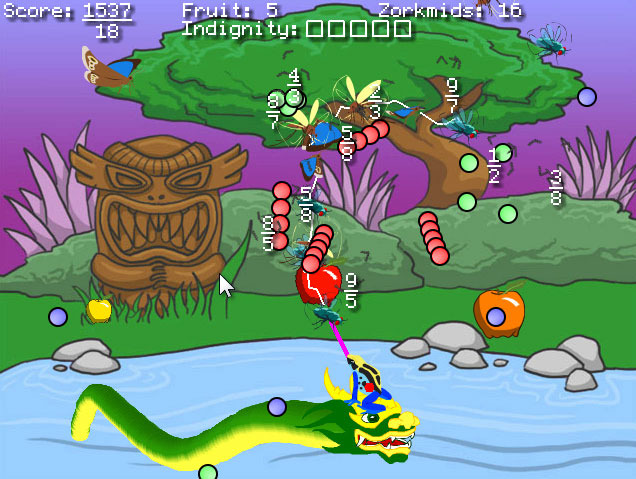 The original <i>Frog Fractions</i> is much more than meets the eye in this screenshot.