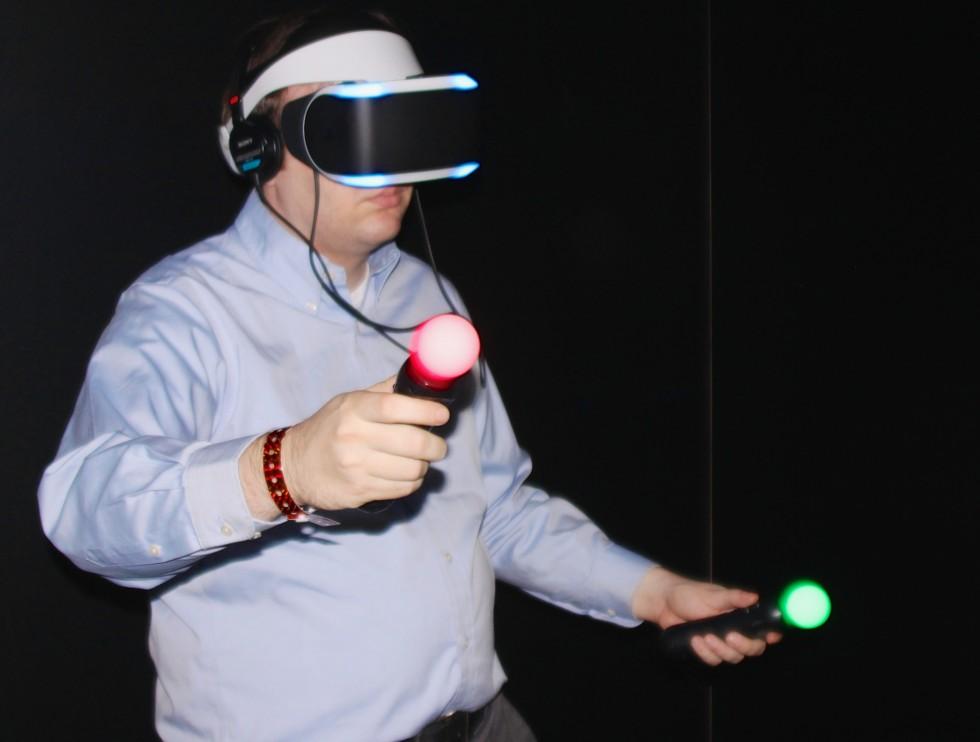 Project Morpheus samen met Sony Move controllers