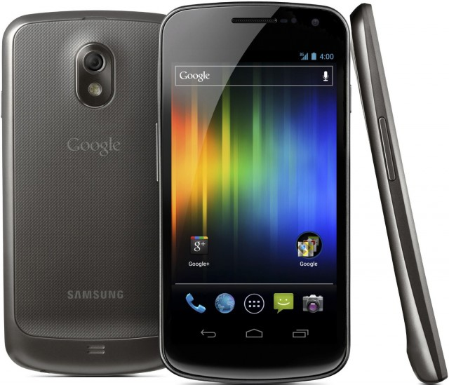 The Samsung Galaxy Nexus, Android 4.0's launch device.