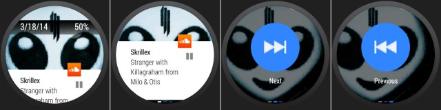 Soundcloud on Android Wear