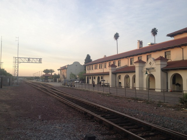 Fresno's downtown Amtrak station dates back to the late 19th century.