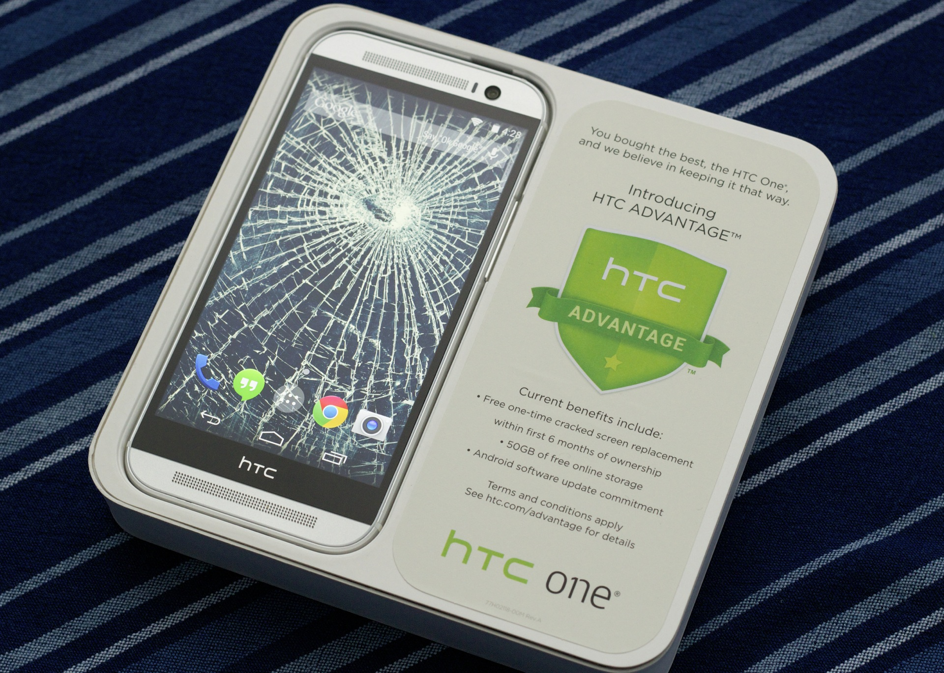 Busted screen? HTC will actually replace it for free if you do it in the first six months.