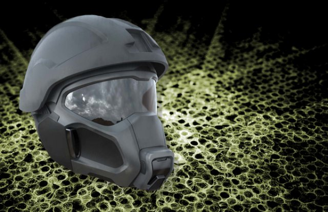 <b> Army </b>  evolves Vader-like power-cooled gas mask/helmet combo