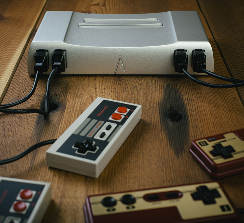 This picture was taken before the Analogue Nt was sent back into the past to save the future, <i>Terminator</i>-style.