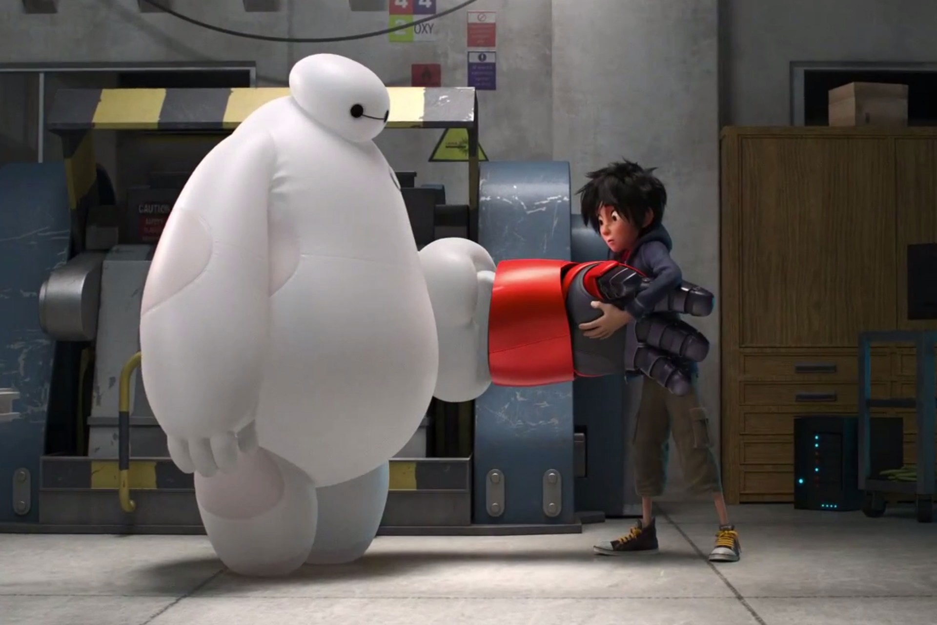Expect more comedy from your superheroes in Disney's Big Hero 6.