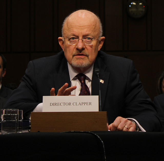 James Clapper, director of national intelligence.