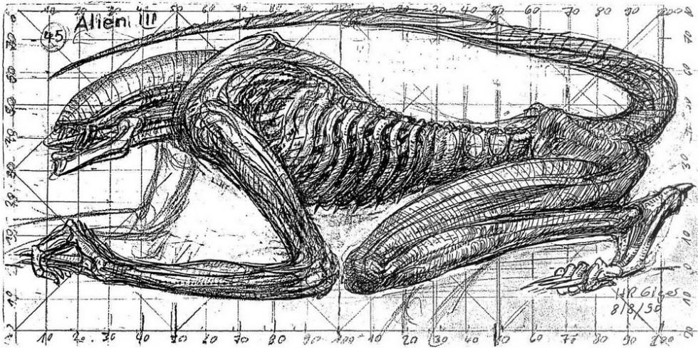 in ridley scott... H.r. Giger Birth Machine