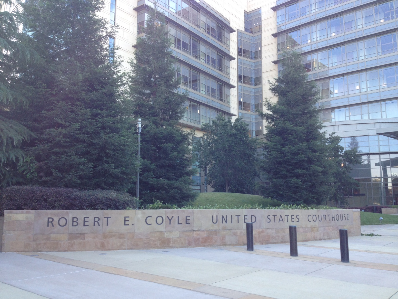 The Robert E. Coyle Federal Courthouse in Fresno is the site of a significant portion of the nation's laser strike cases.