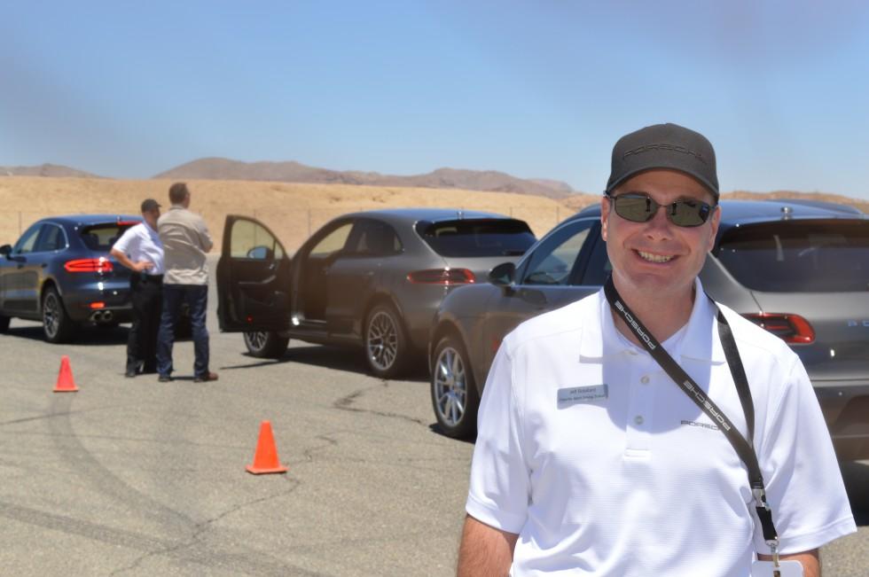 One of our kind Porsche Sport Driving School Instructors.