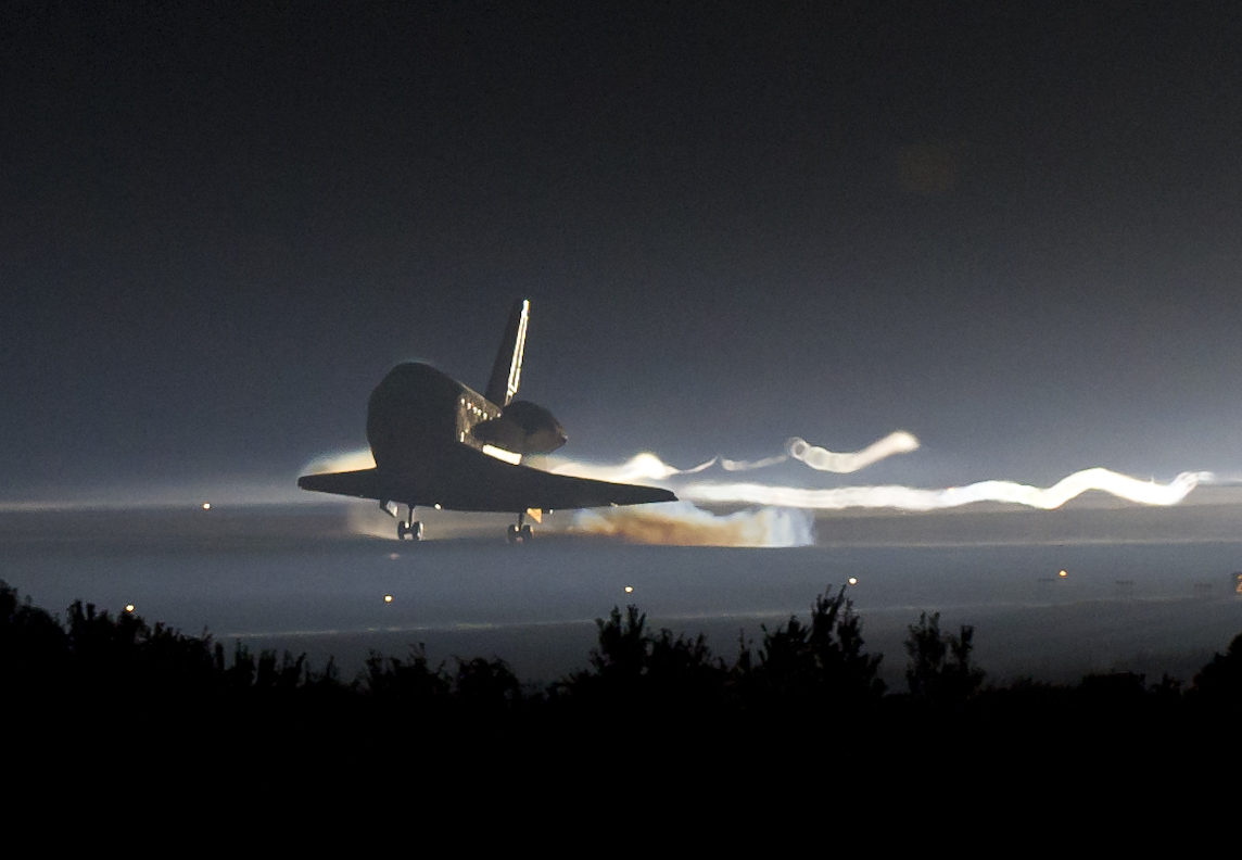 <em>Atlantis</em> and the final landing of the Space Shuttle program.