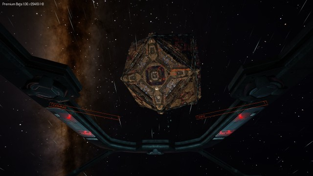 Approaching Dahan Gateway, a Coriolis-class space station in the DahanSystem.