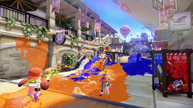 <i>Splatoon</i>, a brand-new Nintendo IP.