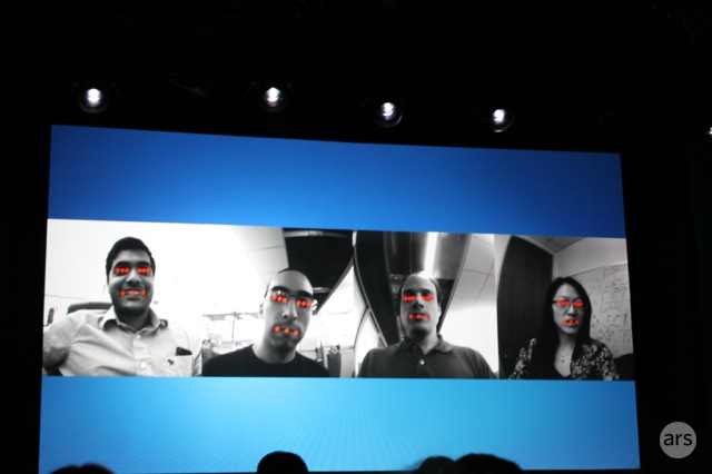 This creepy photo came about as Amazon taught its Dynamic Perspective technology how to identify human faces.