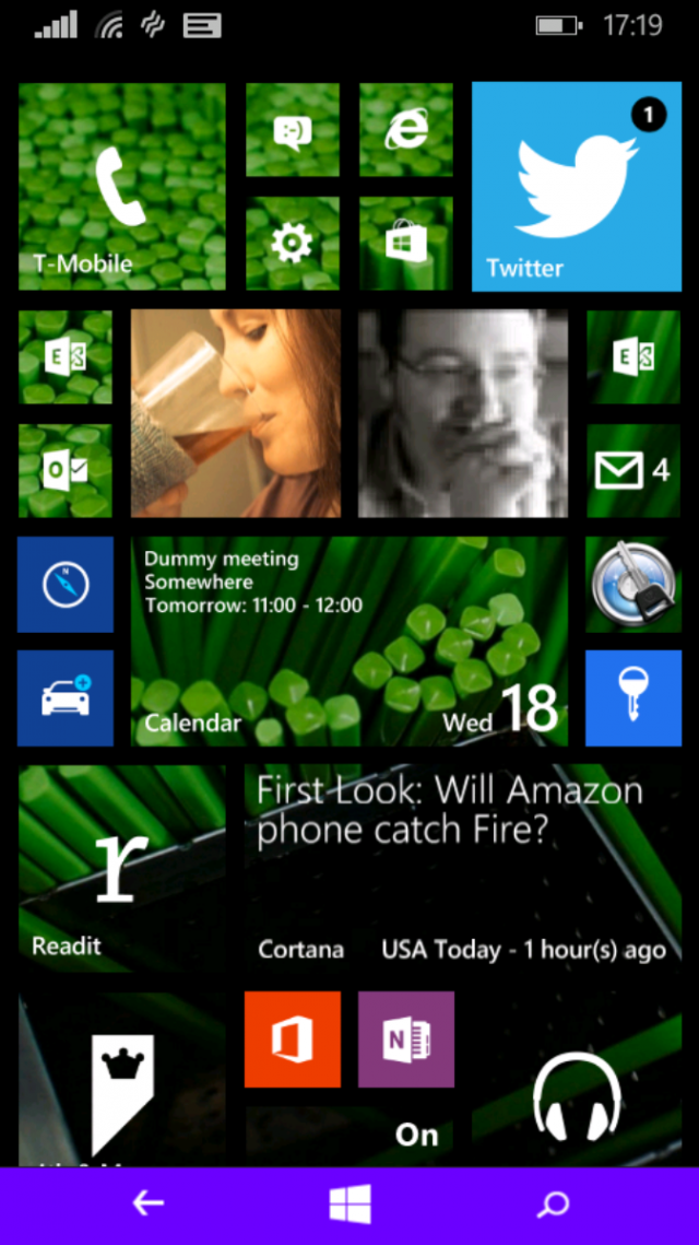 Cortana change your color antique jades