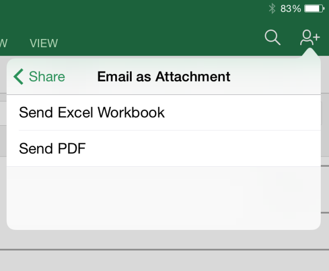 Office for iPad updates add PDF exports, better keyboard and font support