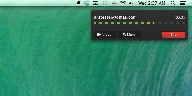 FaceTime Audio in Mavericks. That UI sure looks familiar.